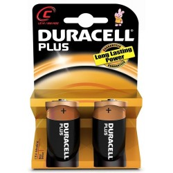 Pila C Duracell PlusPower LR14 2 Unidades