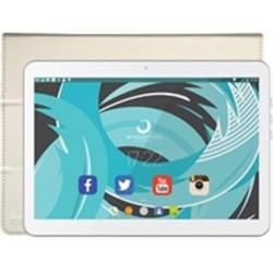 "Tablet de 10"" Brigmton BTPC-1024QC-B Blanca + Funda BTAC-108-B"