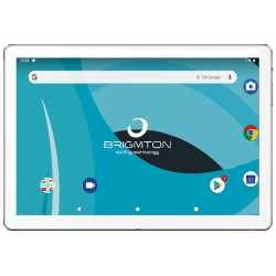 """Tablet de 10"""" Brigmton BTPC-1025OC-B Blanca"""