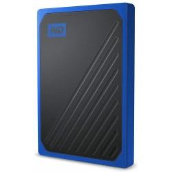Disco Externo SSD 500GB WD My Passport Go Azul
