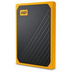 Disco Externo SSD 500GB WD My Passport Go Amarillo