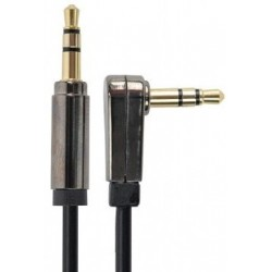 Cable Jack 3,5mm M/M 0,75m en Angulo Recto Cablexpert