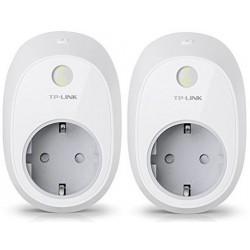 Enchufe Inteligente Wi-Fi Tp-Link HS100 Pack de 2 Unidades