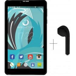 "Tablet de 7"" Brigmton BTPC-PH6-N Negra + Auricular BML-14"