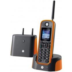Telefono Inalambrico Motorola O201 Largo Alcance Naranja