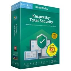 Kaspersky Total Security 2020 5 Dispositivos 2 Usuarios 1 Año