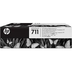 Cabezal de Impresión HP 711 C1Q10A