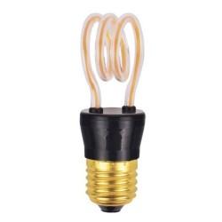 Bombilla Led E27 Bulb Glass 2200K 4W Platinet Art2