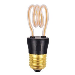 Bombilla Led E27 Bulb Glass 2200K 4W Platinet Art2