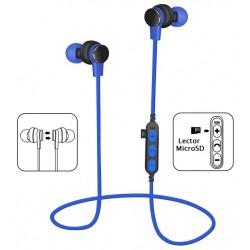 Auriculares Bluetooth Platinet PM1061BL Azul