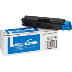 Toner Kyocera TK-590C Cian 1T02KVCNL0