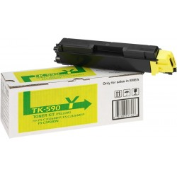 Toner Kyocera TK-590Y Amarillo 1T02KVANL0