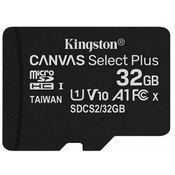 Tarjeta MicroSD 32GB Kingston Canvas Select Plus