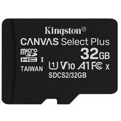 Tarjeta MicroSD 32GB Kingston Canvas Select Plus