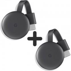 Google Chromecast 3 Pack de 2 Unidades