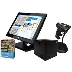 Pack Comercio 10Pos TPV + Impresora + Lector Códigos de Barra + Software