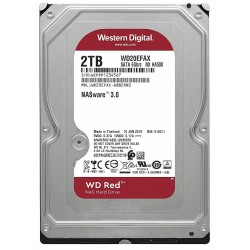 "Disco Duro SATA 3,5"" 2TB WD Red 256MB WD20EFAX"