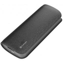 Bateria Externa 5200 Platinet Cuero Negro