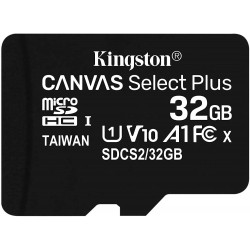 Tarjeta MicroSD 32GB Kingston Canvas Select Plus sin Adaptador