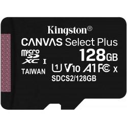 Tarjeta MicroSD 128GB Kingston Canvas Select Plus sin Adaptador