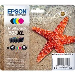 Tinta Epson 603XL Pack de los 4 Colores