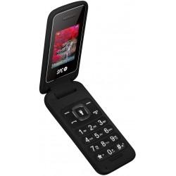 Telefono Movil SPC Flip Negro
