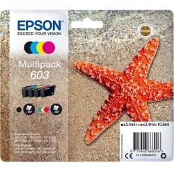 Tinta Epson 603 Pack de los 4 Colores
