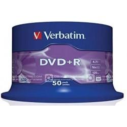 DVD+R Tarrina 50 Unidades...
