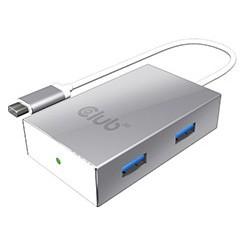 Hub Club 3D USB3.0 C a 4...