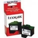 Lexmark 17 Negro