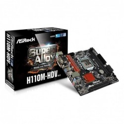 Placa Base Asrock H110M-Hdv