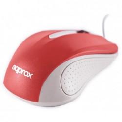 Ratón APPROX Óptico USB...