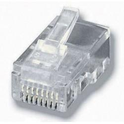 Conectores RJ45 EQUIP Kit...