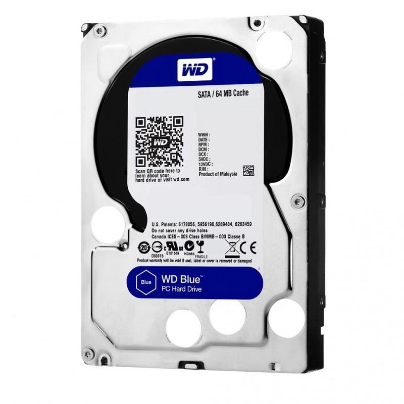 """SATA Hard Disk 3.5 """"1TB WD Blue WD10EZEX"""