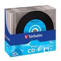 700MB CD-R 10 Units Verbatim Vinyl