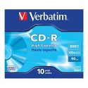 800MB CD-R 10 Units Verbatim