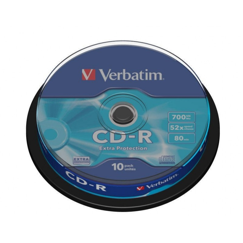 CD-R Tarrina 10 Units Verbatim