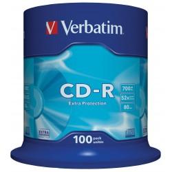 CD-R Tarrina 100 Unidades...