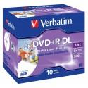DVD+R DL 10 Unidades Verbatim Printables