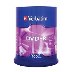 DVD+R Tarrina 100 Unidades...