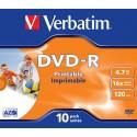 DVD-R 10 Unidades Verbatim Printables