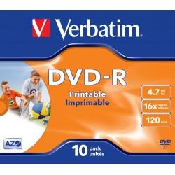 DVD-R 10 Unidades Verbatim...