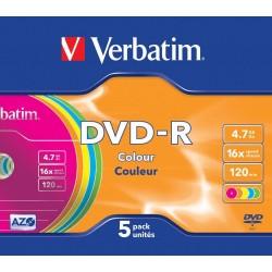 DVD-R 5 Unidades Verbatim...
