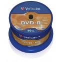 DVD-R Tarrina 50 Unidades Verbatim