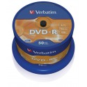 DVD-R Tarrina 50 Units Verbatim