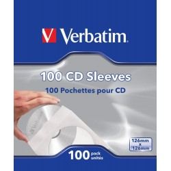 CD or DVD covers 100 Units Verbatim