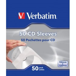 CD or DVD covers 50 Units Verbatim