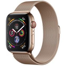 Apple Watch Series 4 GPS+Cellular 44mm Acero Inoxidable Dorado con Correa Milanese Loop Oro