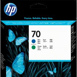 Cabezal de Impresión HP 70 Azul/Verde C9408A