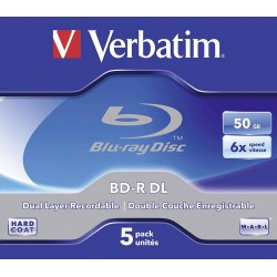 BD-R DL 50GB 5 Unidades Verbatim